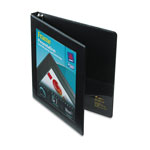 "Avery Framed Presentation 1/2"" View Binder, Black"