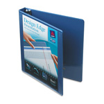"Avery Design Edge 1"" View Binder, Blue"