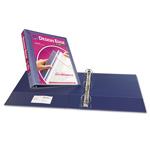"Avery Design Edge 1 1/2"" View Binder, Blue"