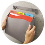 Avery Cubicle Wall File Pocket, Gray