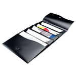 Avery Slide & View Expanding File, 5 Pockets, Letter, Black
