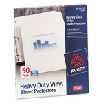 Avery Top Loading Sheet Protector, Clear