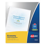 Avery Economy Semi-Clear Sheet Protectors, Acid-Free, Box of 100