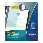 Avery Non-Glare Heavyweight Sheet Protectors, Box of 100