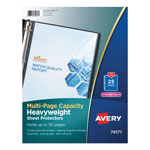 Avery Diamond Clear Multi-Page Capacity Sheet Protectors, Acid Free, Pack of 25