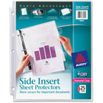 Avery Diamond Clear Side Insert Sheet Protectors, Acid Free, Pack of 25