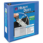 "Avery Heavy Duty Nonstick View Binder w/Locking 1 Touch EZD Rings, 4"" Cap., Periwinkle"