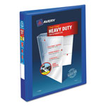 "Avery Heavy-Duty View Binder w/Locking EZD Rings, 1"" Cap, Pacific Blue"