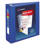 "Avery Heavy-Duty View Binder w/Locking EZD Rings, 3"" Cap, Pacific Blue"