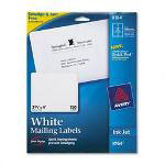 Avery White Ink Jet Mailing Labels, 3 1/3 x 4, 150 per Pack