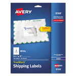 "Avery Shipping Labels with TrueBlock Technology, 3 1/2""x5"", White, 100 per Pack"