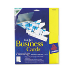 Avery Glossy Photo Quality Ink Jet Business Cards, 8 Cards/Sheet, 200 Cards/Box