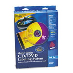 Avery CD/DVD Design Kit, 40 Labels & 10 Inserts for Ink Jet Printers