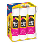 Avery Dennison Clear Application Permanent Glue Stics, 1.27 Oz