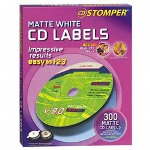 Avery Labels for use with CD Stomper Pro CD/DVD Labeling System, White Matte, 300/Pack