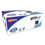 Avery Regular Desk Style Dry Erase Markers, Black, 36/Pack