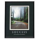 "Advantus Framed ""Success"" Motivational Print, 24w x 30h, Black Frame"