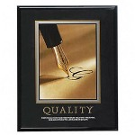 "Advantus Quality Poster, 24""x30"", Black Frame Included"