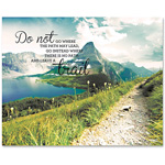 "Advantus Motivational Canvas Print, Trail, 28"" x 22"", AST"