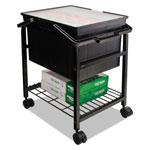 Advantus File Shuttle II File Cart with Heavy Duty, Black