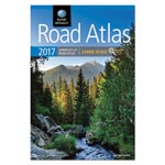 Rand McNally Large Scale Road Atlas, North America+Puerto Rico, Large Type, Soft Cover, 2017
