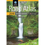 Rand McNally Road Atlas, Glue Top, 144 Pages, 2018 Edition