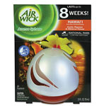 Air Wick Aroma Sphere Air Freshener, Hawaii, 2.5 oz, 3 per Carton