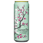 Arizona Green Tea with Ginseng & Honey, 23 oz Can, 24/Case