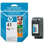 HP 51641A 41 Print Cartrid1 x Yellow, Cyan, Magenta 460 Pages 300 DPI