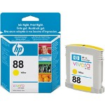 HP C9388AN#140 No. 88 Yellow Inkjet Cartridge, 620 Pages