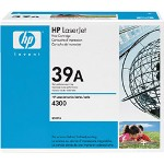 HP 39A Toner Cartridge - 1 x Black - 18000 Pages - Government