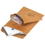 "Box Partners #0 6"" x 8 1/2"" Kraft Corrugated Mailers"