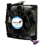 Startech Universal AMD 64-bit CPU Heatsink w/Fan - Processor Cooler - (Socket 940, Socket 939, Socket AM2) - Aluminum - Black