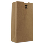 Duro Kraft Paper Bags, Heavy Duty, Brown, 8 lb