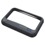 "Bausch & Lomb Handheld Rectangular LED Magnifying Glass , 4""x2"""