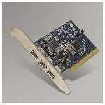 Belkin F5U503V Firewire 3 Port PCI Card for Desktop PC