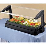 Cambro Buffet Bar 6Ft 5P W/Sng-Black