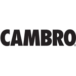 "Cambro Bus Cart 330 5"" 2Fx2Sw1B-Black"