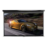 Elite Screens Manual Series M100XWH-E24 HDTV Format - Projection Screen - 100 In ( 254 Cm )