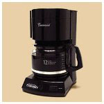 Mr. Coffee Coffee Maker, 12 Cup, Black