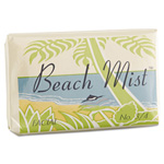 VVF AMENITIES Face and Body Soap, Foil Wrapped, Beach Mist Fragrance, 0.75 oz. Bar