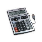 Canon DK1000I USB Trackball Numeric Keypad/Desktop Calculator, 12 Digit Display