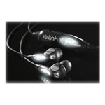 iBlink™ BLW1 Noise Isolating Earphone, Black