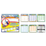 The Board Dudes SmartDudes Printing Learning Book, Math, Six Pages, Grade 3 and Up