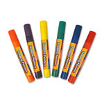 The Board Dudes Tempera Pain Pens, Washable, 1.7 oz., Assorted