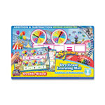 The Board Dudes Spinner Z Dry-Erase Learning Mat, Add/Subtract, Assorted