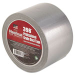 "Nashua 398-4-SIL Premium, Duct Tape, 4"" x 60yds, Silver"