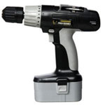 "New Buffalo Cordless Drill, 18 Volt, 3/8"" Keyless Chuck, Multiple Torque Settings, with Battery and Charger"
