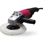 "New Buffalo Electric Sander/Polisher, Variable Speed, 220 to 3300 RPM, 10 Amp Motor, 5/8"" Arbor, Side Handle"