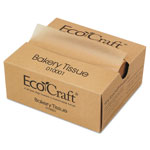 "Ecocraft Interfolded Soy Blend Wax Tissue, 6""x10 3/4"", Natural"